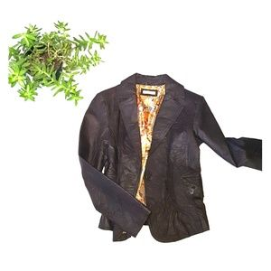 Wilsons leather brown jacket sz medium
